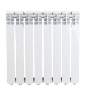 Радиатор отопления новый. 8 секций