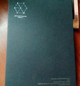 CD EXO EX'ACT Album + карта Исина (K-POP)