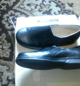 Туфли мужские, натуральная кожа новые