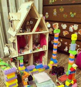 Деоевчнный дом для кукол