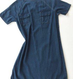 Джинсовое платье Торshop