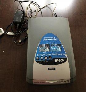 Сканер Epson Perfection 2480 Photo