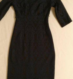 Платье синее, р-р 40-42