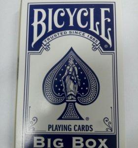Карты Bicycle BIG BOX