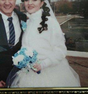 Свадебное платье и всё к нему