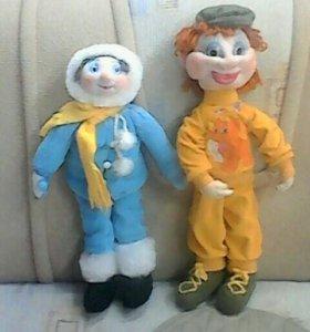 Чулочные куклы