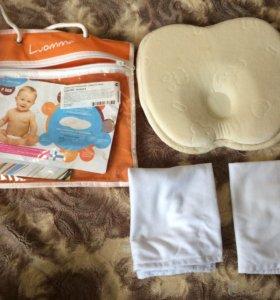 Подушка ортопедичиская для новорождённых
