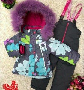 Новый зимний мемранный костюм