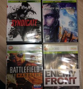 BATTLEFIELD,SYNDICATE,ENEMY FRONT,LOST PLANET 3