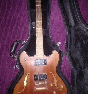 Полуакустическая гитара washburn hd32dm