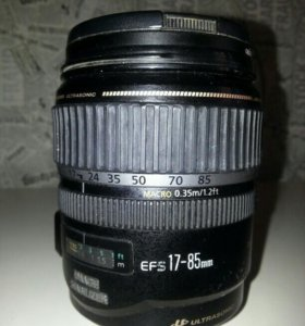 Объектив Canon EF-S 17-85mm f4-5,6 IS USM бу
