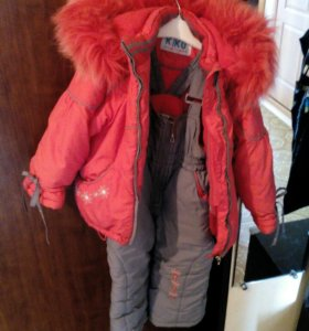 Зимний костюм для девочки Kiko