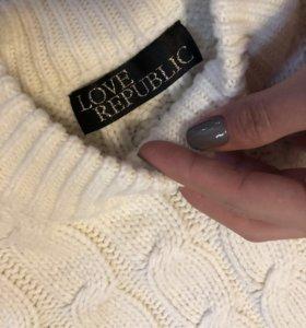Свитер Love Republic , Zara хаки Oversize