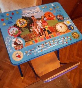 Детский стол+стул