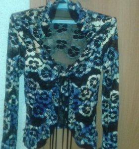 Блуза гипюровая р.44-46