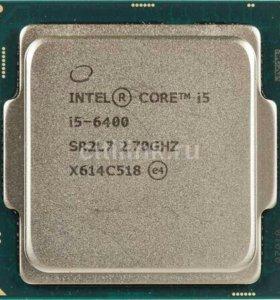 Intel i5 6400 s-1151 2.7 ГГц-3.3 ГГц турбо.