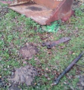 ковш на трактор+регулировочный винт+2 тяги