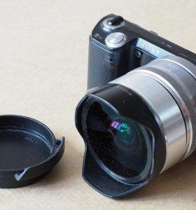 фотокамера Sony NEX-5N с объетивом и конвертором