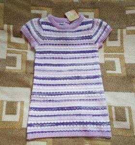 Новое теплое платье Crazy8 3Т