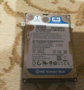 "Жесткий диск 320гб WD 2.5"" sata"