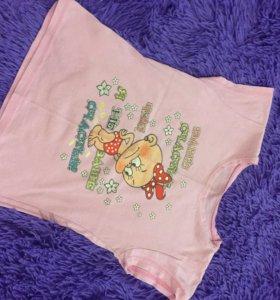 Кофточки и футболочка для девочки