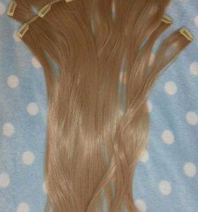 Волосы на заколках 👱