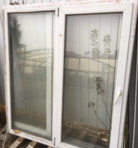 Металопластиковые окна б/у