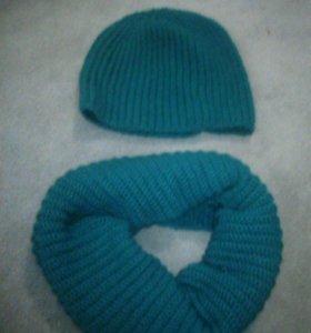 Вязаные шапочки шарфики