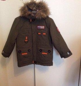 Новая зимняя куртка для мальчика рост 104