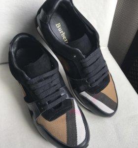 Burberry кроссовки
