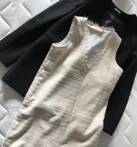 Пиджак 12storeez + платье 12storeez ( все новое)