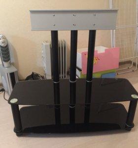 Тумба для ТВ стекло