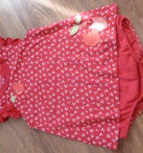 Боди-платье на девочку 12-18мес.
