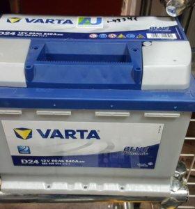 Аккумулятор VARTA 60А/Ч