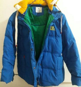 Куртка зимняя на 10 лет