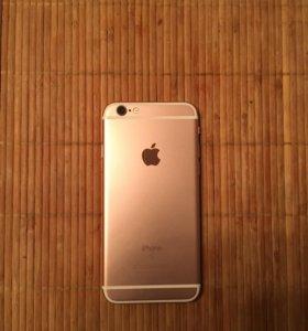 iPhone 6s rose. Не пользованый. Куплен в связном