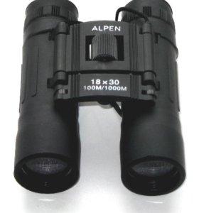 Бинокль Alpen 18х30 100м/1000м (10х25)