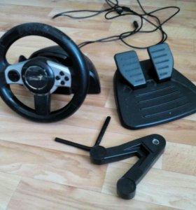 Руль Genius f1 racing wheel