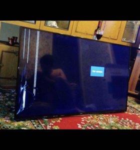 Телевизор 55 дюймов на запчасти