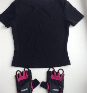 Перчатки для фитнеса Tornio топ спортивный