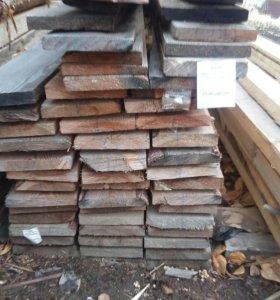 Доска 25х150х2 лиственница пиломатериал