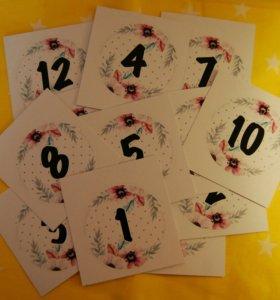 Карточки для фотосессии