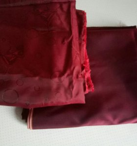 Натуральная шелковая тафта и вискоза