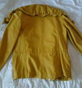 Продам кожаную куртку KAREN MILLEN