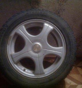Колеса R16 5×114.3и 5×100