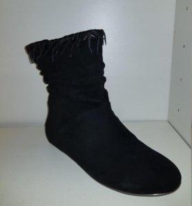 Ботинки, натур. замша (р. 38-40)