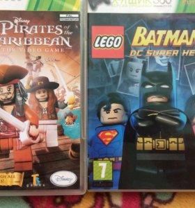 LEGO PIRATES CARIBBEAN и LEGO BATMAN2