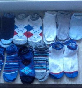 Носки детские укороченные пакетом 14пар