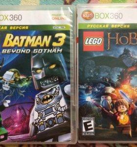 LEGO HOBBIT и LEGO BATMAN 3