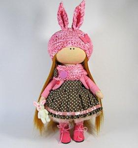 Интерьерная кукла-тильда